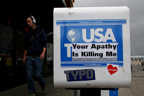 The United States of Apathy