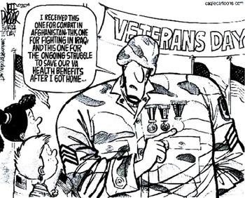 Veterans Affairs Closes Its Doors